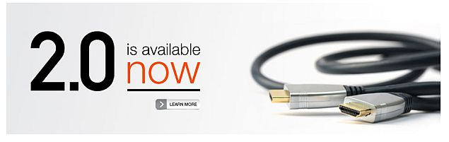HDMI 2.0 officially unveiled, brings 4K video support