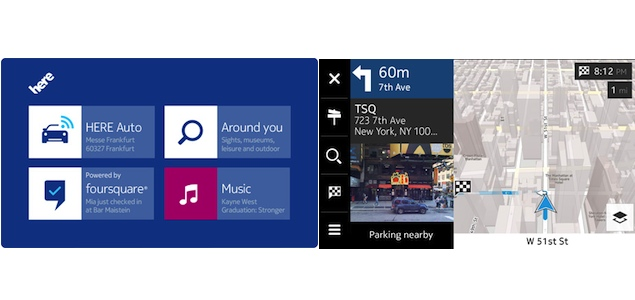 Nokia ties up with Mercedes-Benz to provide in-car HERE mapping services