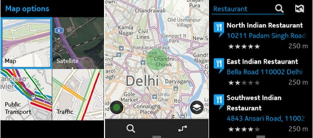 Nokia Here Maps come to Asha 501, let you navigate without GPS