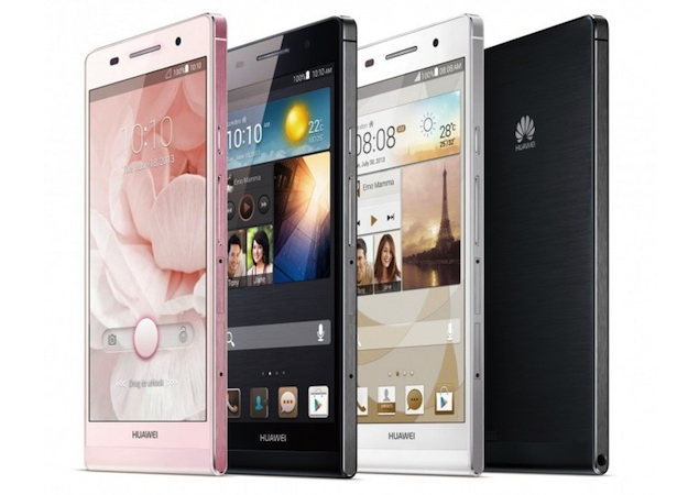 Huawei Ascend P6 official ahead of formal launch