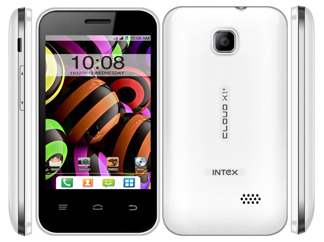Intex Cloud Y11, Cloud Y12, Cloud X1+ and Cloud X11 listed on company site