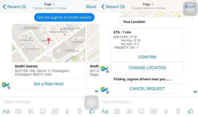 'Jugnoo Bot' Enables Auto Rickshaw Bookings on Facebook Messenger