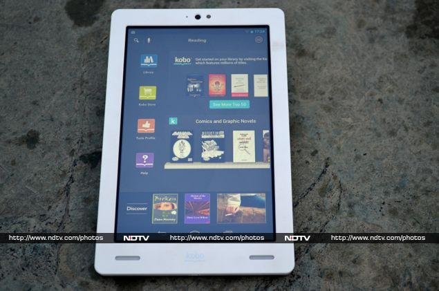 Kobo arc review ndtv for Housse kobo arc 7
