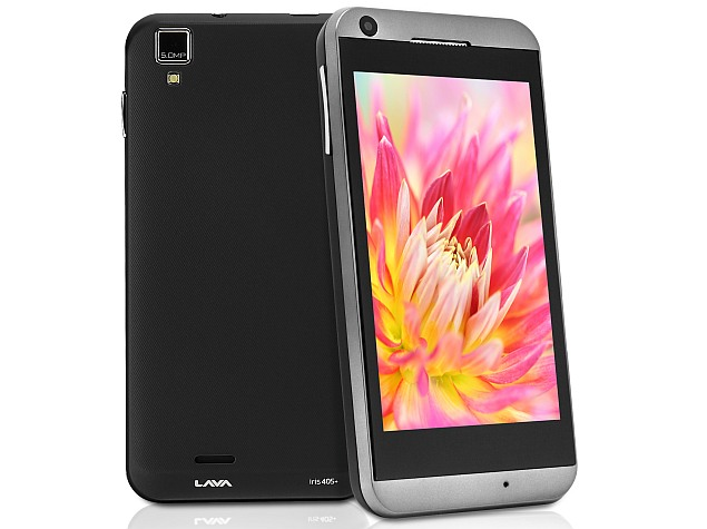 Lava Iris 405+ smartphone with Android 4.2 and 3G launched at Rs. 6,999