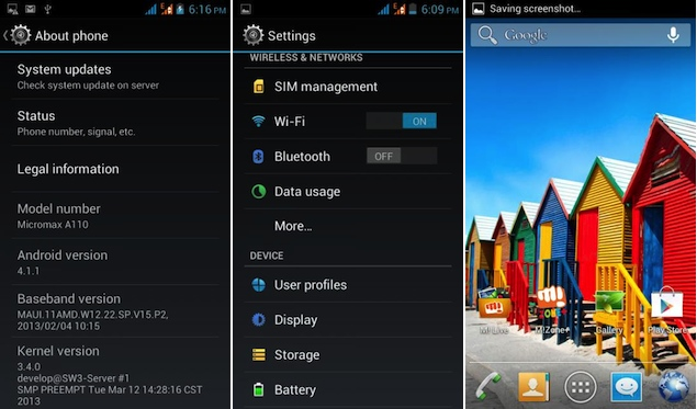 Micromax A110 Canvas 2 Jelly Bean Update Now Available Technology News