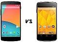 Google Nexus 5 vs. Nexus 4: What's changed