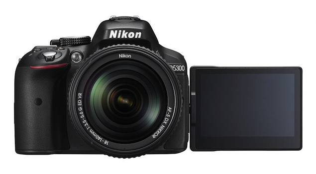 Nikon D5300 DSLR camera with Wi-Fi and GPS launched at Rs. 54,450