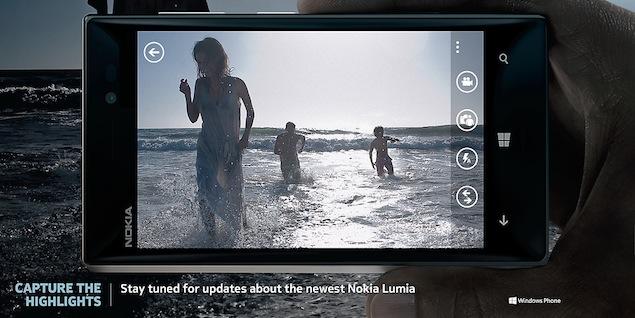 Lumia 928 officially confirmed via Nokia's website