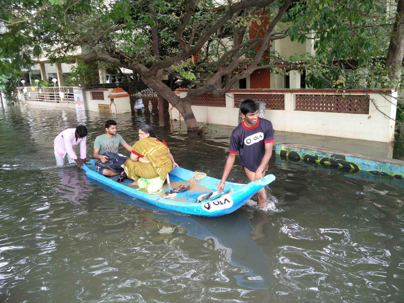 Chennai Floods: Ola Offers a Helping Hand With OlaBoats