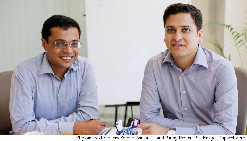 Flipkart Names Binny Bansal CEO, Sachin Bansal Executive Chairman