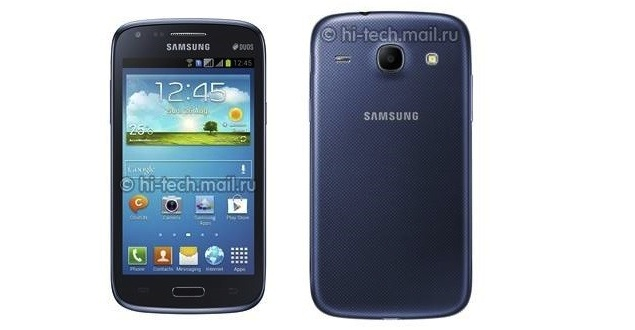 Samsung Galaxy Core mid-range Android smartphone appears online