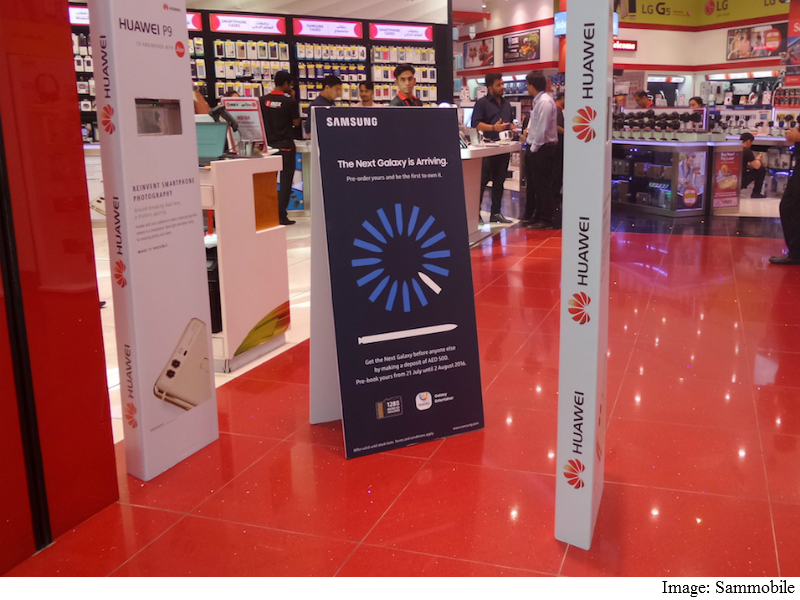 Samsung Galaxy Note7 Pre-Orders Begin in Dubai, Iris Scanner Shown in Video: Reports