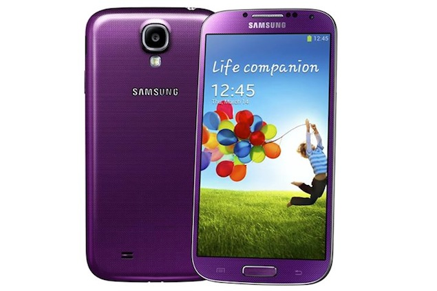 Celular Samsung Galaxy S4: Samsung Galaxy S4 Now Available In Purple Mirage And Pink