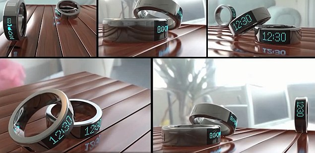 Meet Smarty Ring, a 'smartwatch' for your finger