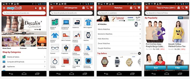Snapdeal says 30 percent of its orders now come via mobile