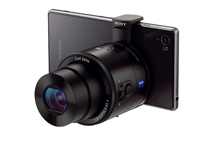 Sony Cyber-shot DSC-QX100 and DSC-QX10 lens cameras announced, can be paired with Android and iOS devices