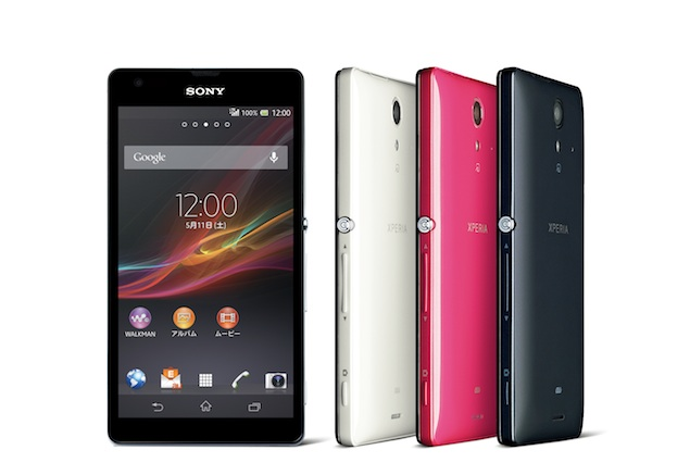 Sony Xperia UL launched with full-HD screen and quad-core processor