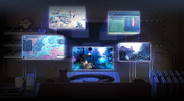 Valve announces linux based steamos brings pc gaming to for Channel 4 living room ideas