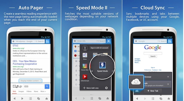 UC Browser 9.4 for Android released, brings new features to improve browsing speed