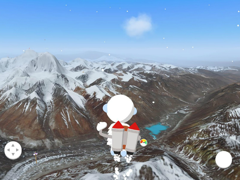 Google Launches Android Game That Lets You Explore the Himalayas in 3D