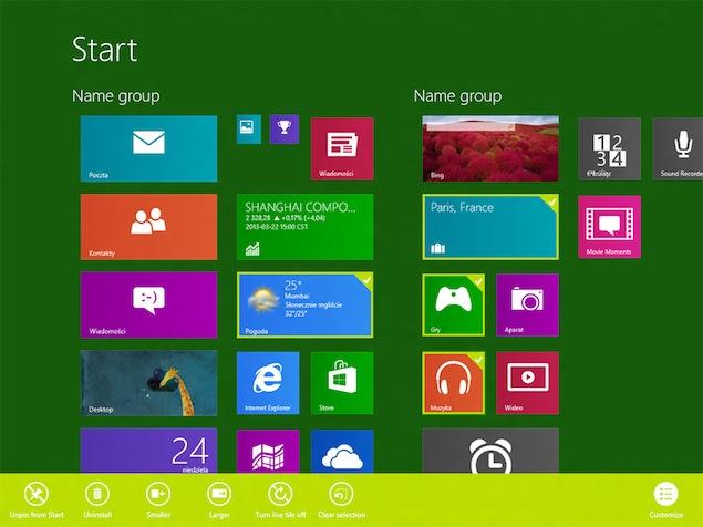 Windows Blue early build leaks online, reveals new UI changes