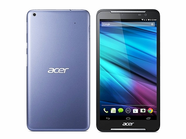 Acer Iconia Talk S Dual-SIM Voice-Calling Tablet With LTE Support Launched