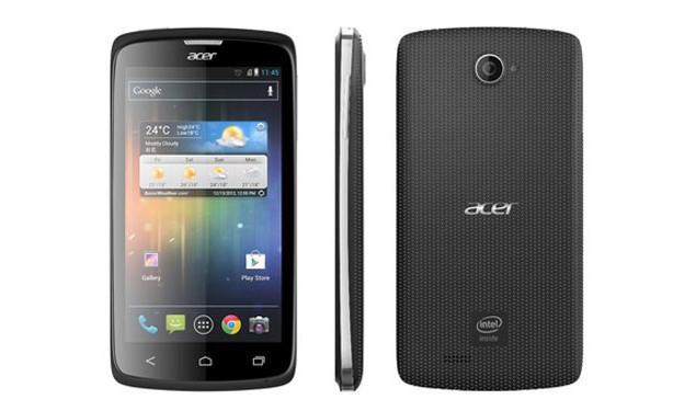 Acer launches Intel Lexington-powered Liquid C1 with Android 4.0