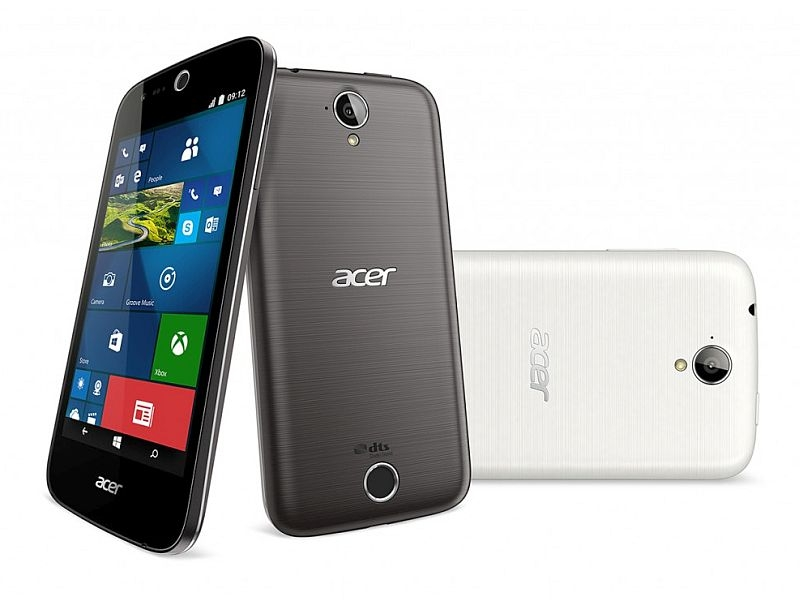 Acer Liquid M330 With 4.5-Inch Display, Windows 10 Mobile Launched