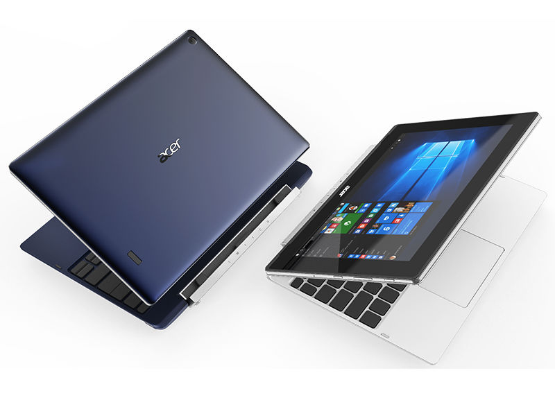 Acer Switch V 10, Switch One 10 2-in-1s Launched Ahead of Computex 2016
