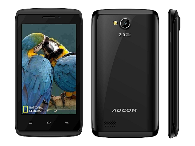 Adcom KitKat A40 With 4-inch Display, Android 4.4.4 Launched at Rs. 2,999