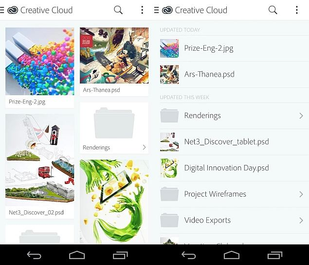Adobe Releases Creative Cloud Preview for Android; Promises Updates