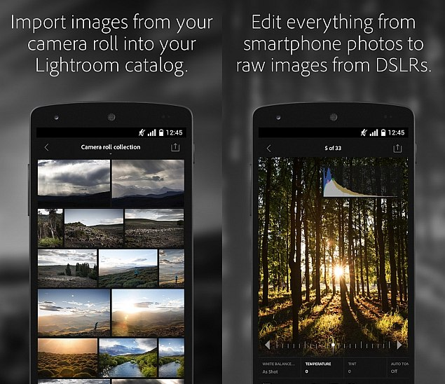 Adobe Lightroom Mobile Photo-Editing App Now Available for Android