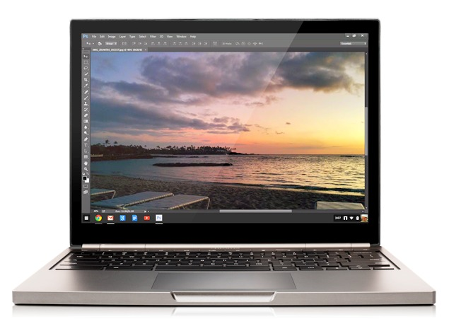 Google, Adobe Bring Streaming Version of Photoshop to Chromebooks