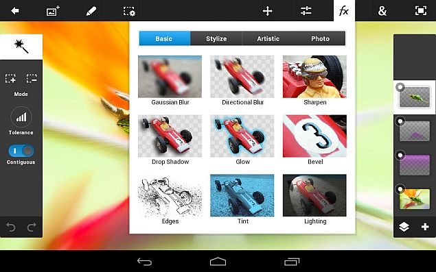 Adobe Photoshop Touch App to Shut Down Next Week