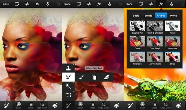 Adobe releases Photoshop Touch for iPhone, iPod touch and Android phones