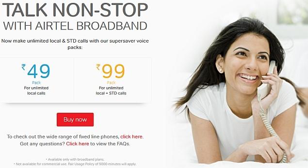 Airtel Unveils Unlimited Free Calling Schemes | Technology News