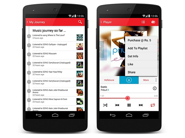 Android Music App