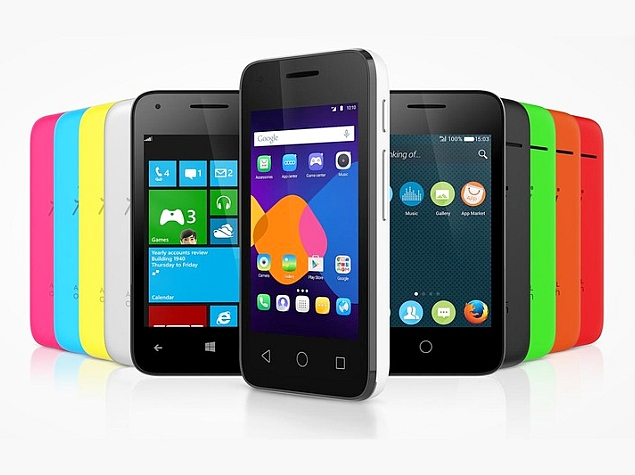 Alcatel One Touch Pixi 3 Series Can Run Android, Firefox OS or Windows Phone