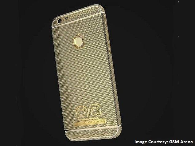 Diamond-Studded iPhone 6 by Alexander Amosu Costs GBP 1.7 Million