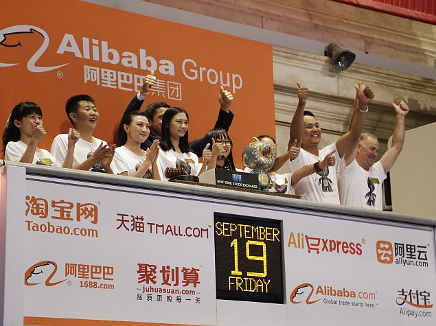 After Strong Debut, China's Alibaba Worth More Than Amazon and eBay Combined