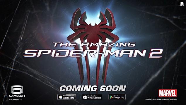 Gameloft announces 'The Amazing Spider-Man 2' for April launch