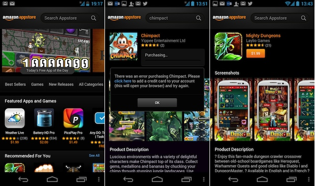 Amazon Appstore Now Available In Nearly 200 Countries Including