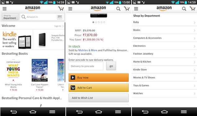 Top best Android apps - Amazon