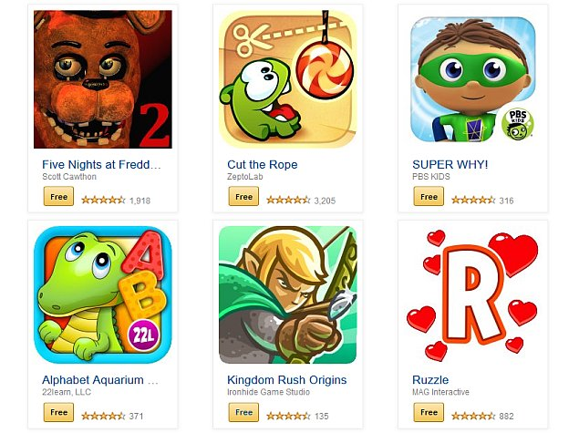 Amazon Offers 34 Paid Android Apps for Free on Appstore's Fourth Birthday
