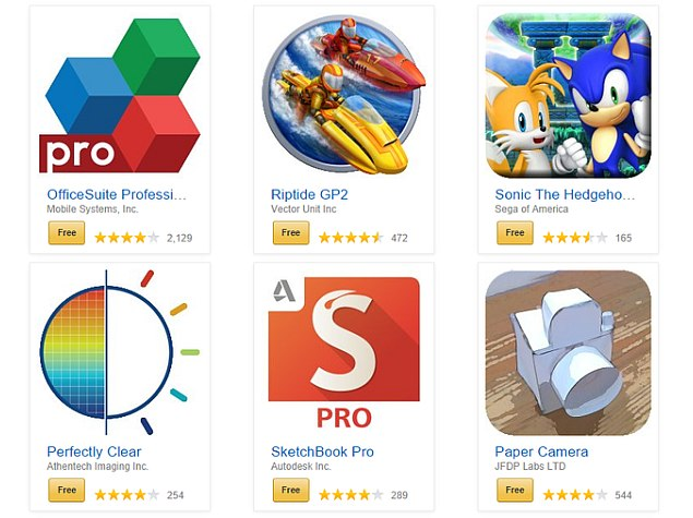 Amazon Appstore Offering 27 Android Apps Worth Over $135 for Free