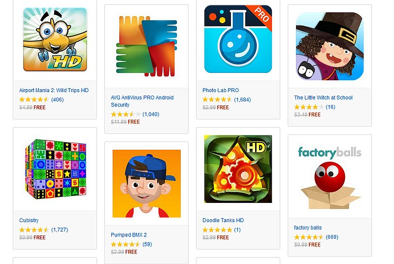 Amazon Appstore Offering Paid Android Apps Worth Over $70 for Free