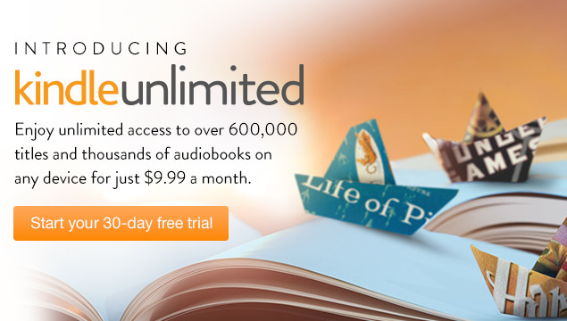 Amazon.com Launches Kindle Unlimited Ebooks and Audiobooks Subscription Service