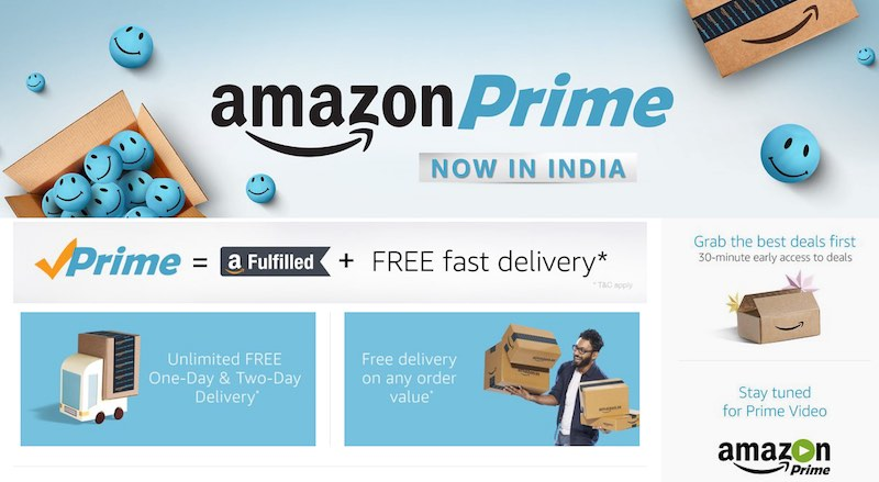 Amazon Prime Launched in India, Amazon Video 'Is Coming'