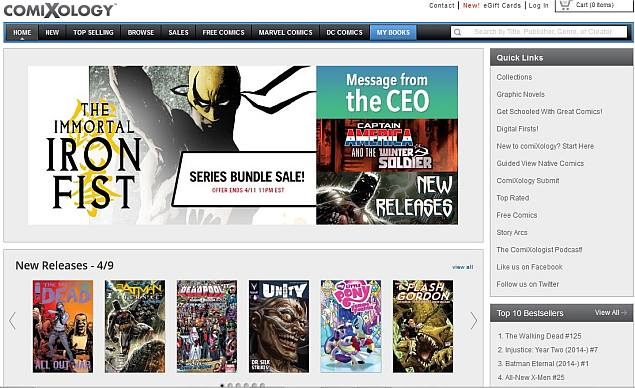 Amazon's Game of Thrones: Comixology changes aren't about selling comics, but fortifying ecosystems