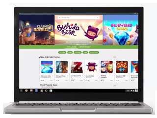 Google Demonstrates How Android Apps Run on Chrome OS